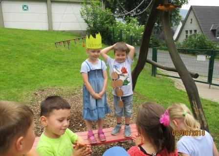 Sommer in unserem Kindergarten