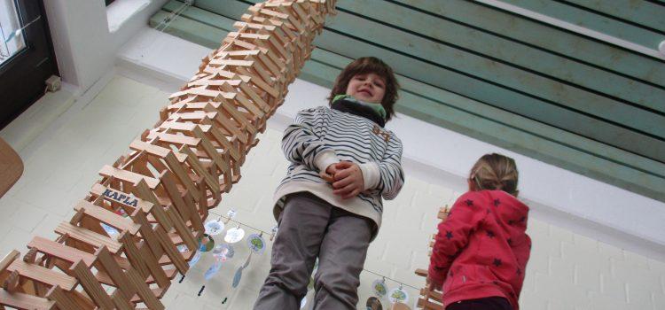 Kapla, Schnee und Karneval: Winter im Kindergarten