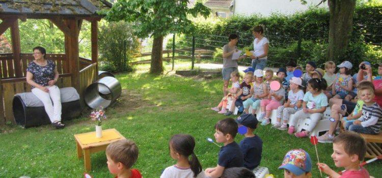 Tornisterfest, Abschlussfest und Abschied von Frau Scherer